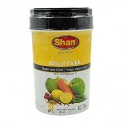 Pálivá nakládaná zelenina Shan Mixed Pickle