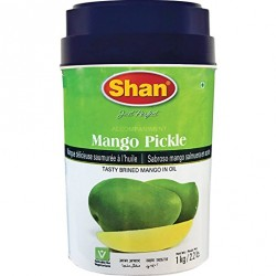 Pálivé nakládané mango Shan Mango Pickle